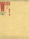 Piet Zwart, Wij Nu Experimenteel Tooneel. The Hague, 1925